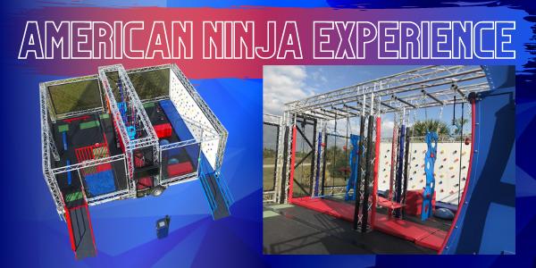 American Ninja Mobile Trailer Rental, Bouncing On Air LLC | Buffalo, New York