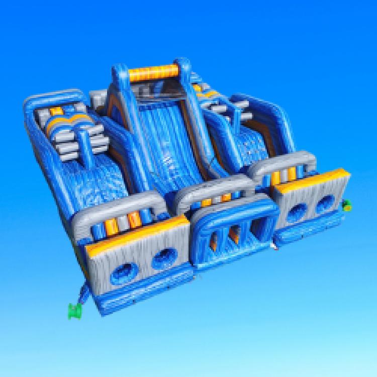 Blue Warrior Rush, Bouncing On Air LLC | Buffalo, New York