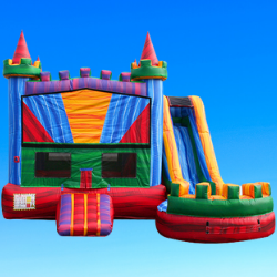 5-1 Colorful Castle, Bouncing On Air LLC | Buffalo, New York