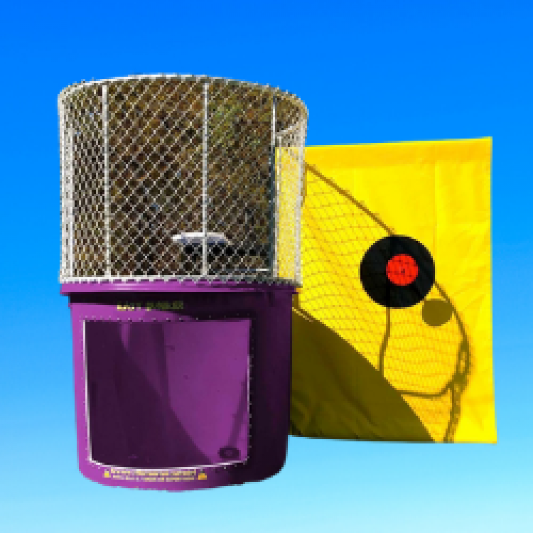 Purple Dunk Tank, Bouncing On Air LLC | Buffalo, New York