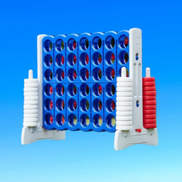 Giant Connect 4- Red, White & Blue, Bouncing On Air LLC | Buffalo, New York